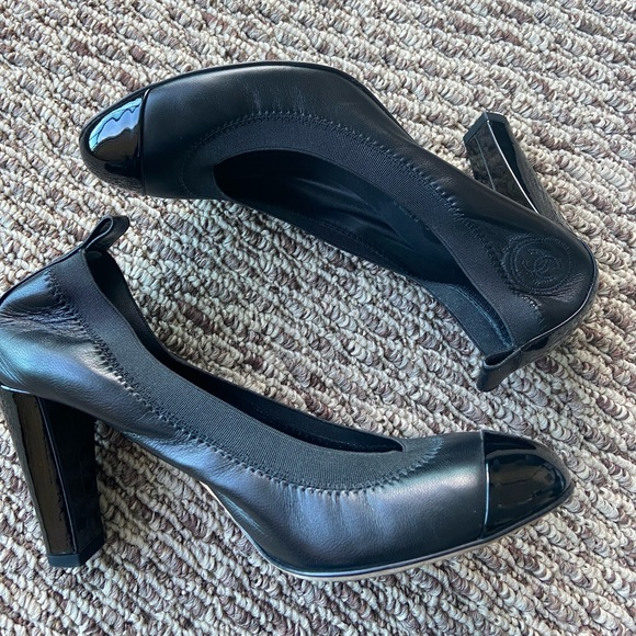 CHANEL Shoes - Chanel Stretch Pump Heel